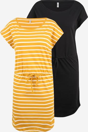 sárga / fekete / fehér ONLY Ruha 'MAY', Termék nézet