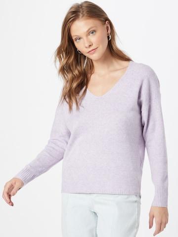 Pull-over 'Rica' ONLY en violet