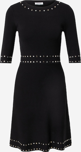 LIU JO JEANS Vestido de punto 'MAGLIA' en negro, Vista del producto
