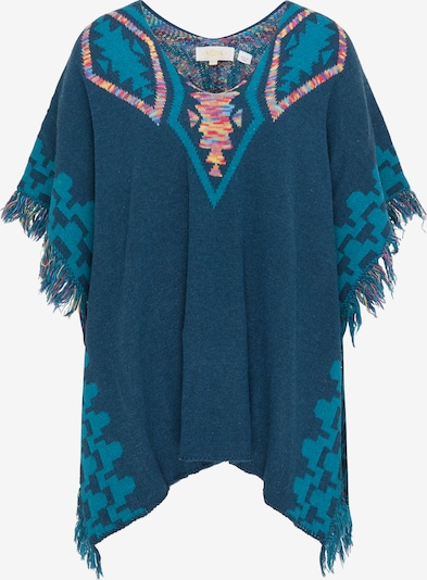usha FESTIVAL Cape in Petrol / Mixed colours, Item view