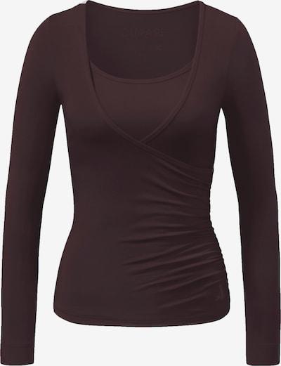 CURARE Yogawear Shirt in dunkelrot, Produktansicht