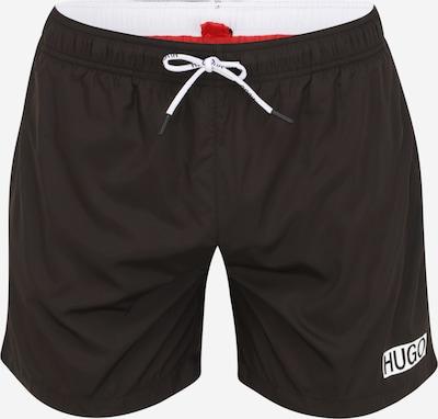 Pantaloncini da bagno 'Haiti' HUGO di colore nero / bianco, Visualizzazione prodotti