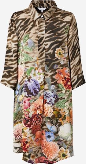 Frogbox Košulja haljina u tamno zelena / tamno ljubičasta / narančasta / burgund / crna, Pregled proizvoda