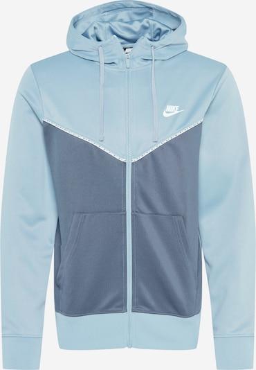 Nike Sportswear Sweatvest in de kleur Blauw / Lichtblauw, Productweergave