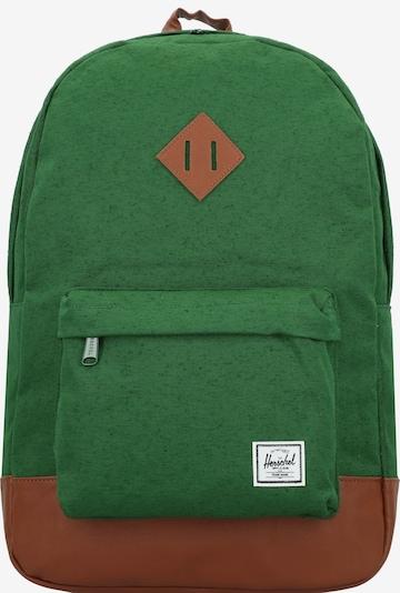 Herschel Rugzak in de kleur Groen, Productweergave