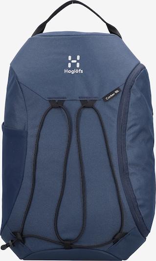Haglöfs Sac à dos de sport en bleu fumé / blanc, Vue avec produit