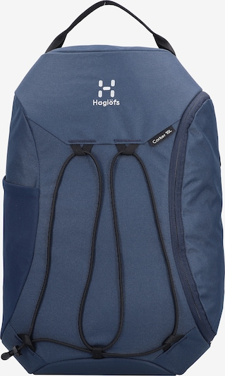 Haglöfs Sportrugzak in de kleur Smoky blue / Wit, Productweergave