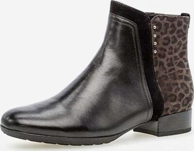 GABOR Stiefelette in braun / schwarz, Produktansicht