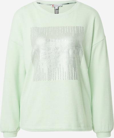 Maglietta STREET ONE di colore verde chiaro / argento, Visualizzazione prodotti
