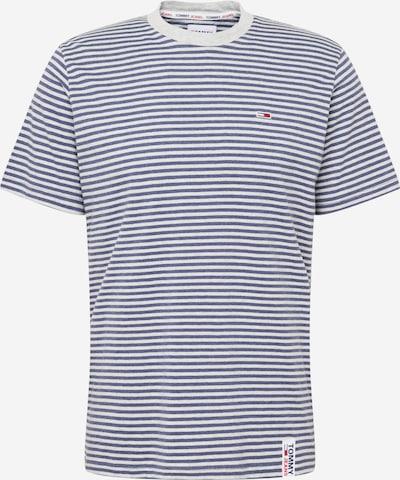 Tommy Jeans T-Shirt en bleu marine / gris clair, Vue avec produit