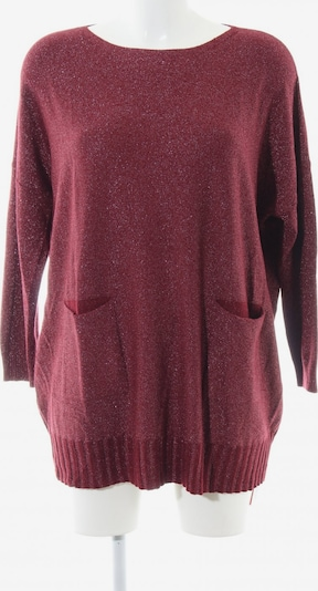 Finery London Oversized Pullover in S in rot, Produktansicht