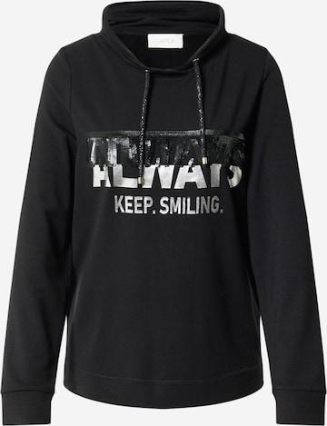 Cartoon Sweatshirt in Black