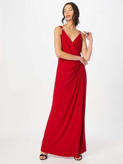 Lauren Ralph Lauren Avondjurk 'Maris' in de kleur Rood / Zilver, Modelweergave