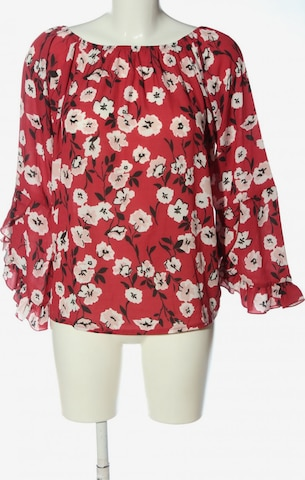 Blue Monkey Blouse & Tunic in S in Red