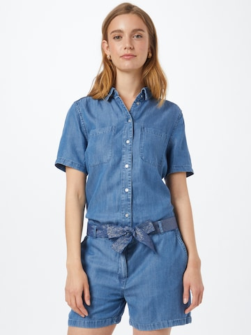 ONLY Jumpsuit 'JUSTINE' in Blauw