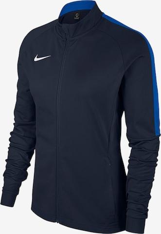 NIKE Athletic Jacket in Blue