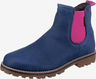 Vado Stiefelette in dunkelblau / pink, Produktansicht