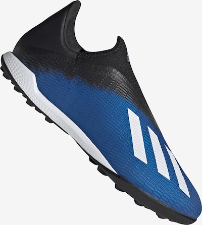 ADIDAS PERFORMANCE Fußballschuh 'X 19.3' in blau / schwarz / weiß, Produktansicht