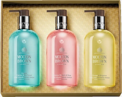 Molton Brown Set in Blue / Yellow / Pink, Item view