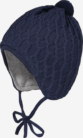 MAXIMO Bommelmütze in Blau