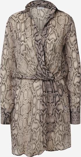 LIU JO JEANS Robe-chemise en camel / noir, Vue avec produit