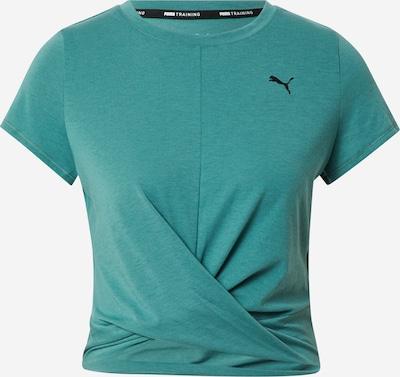 PUMA Koszulka funkcyjna w kolorze szmaragdowy / czarnym, Podgląd produktu