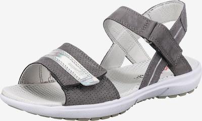 SUPERFIT Sandalen 'RAINBOW' in grau, Produktansicht