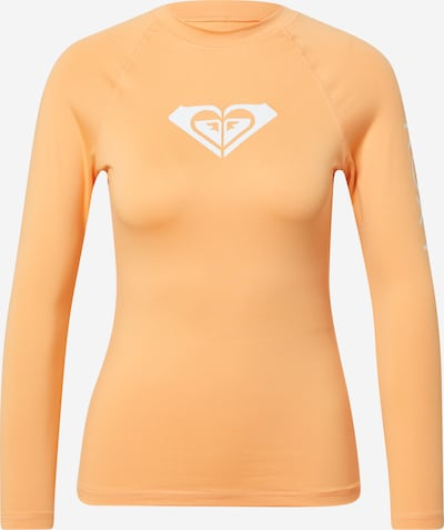 Tricou funcțional 'WHOLE HEARTED' ROXY pe caisă / alb, Vizualizare produs