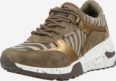 Xti Zemie brīvā laika apavi, krāsa - nebalināts / bronzas / dubļu krāsas, Preces skats
