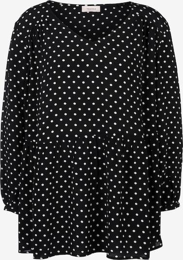 TRIANGLE Bluse in schwarz / weiß, Produktansicht