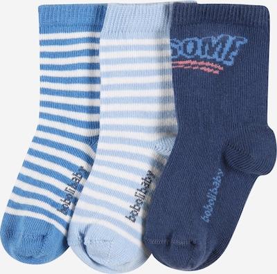 Boboli Socken in navy / himmelblau / hellblau, Produktansicht