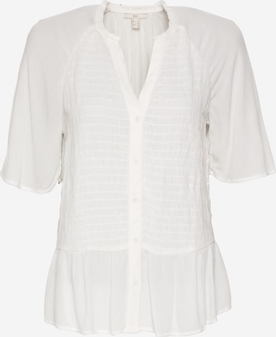 EDC BY ESPRIT Bluse in weiß, Produktansicht