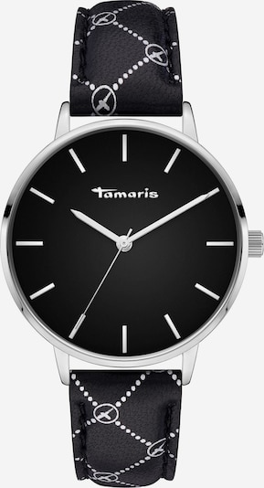 TAMARIS Analoog horloge in de kleur Zwart / Zilver, Productweergave