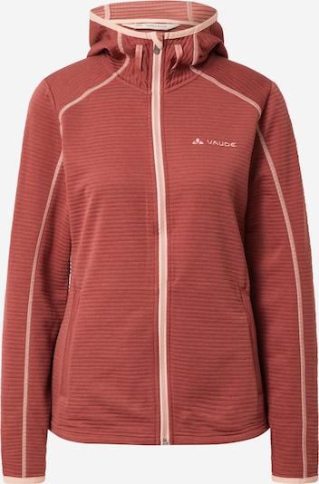 VAUDE Bluza polarowa funkcyjna 'Skomer' w kolorze jasnoróżowy / karminowo-czerwonym, Podgląd produktu