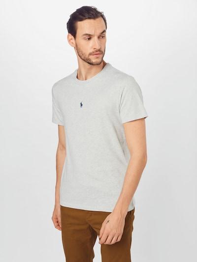 POLO RALPH LAUREN Тениска в сив меланж: Изглед отпред
