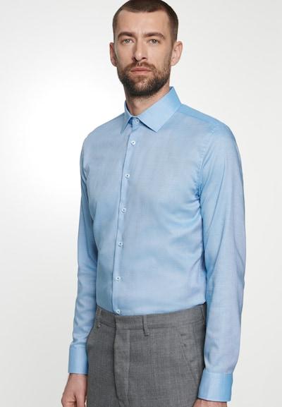 SEIDENSTICKER Hemd in blau: Frontalansicht