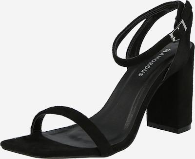 Sandale cu baretă 'FW8248' GLAMOROUS pe negru, Vizualizare produs