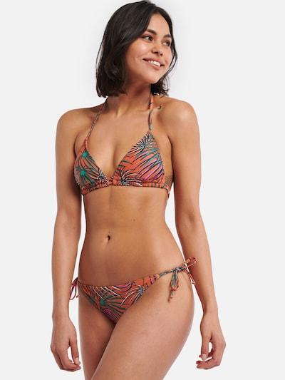Bikinio viršutinė dalis iš Shiwi , spalva - mišrios spalvos / oranžinė, Modelio vaizdas