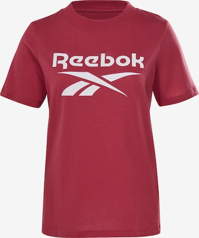 Reebok Classics Shirt in Red / White, Item view