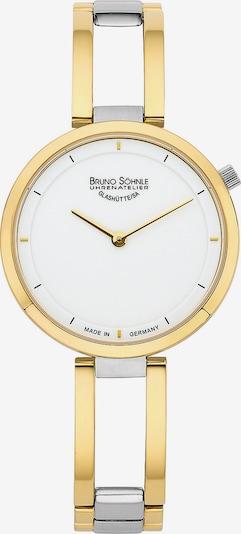 Bruno Söhnle Uhr in gold / weiß, Produktansicht