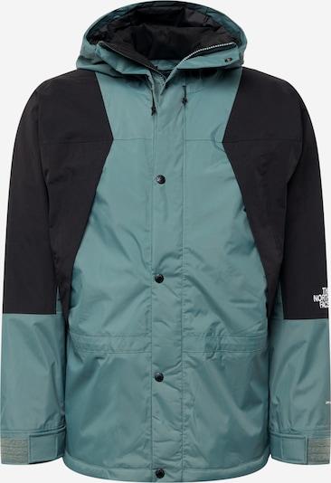 THE NORTH FACE Jacke in smaragd / schwarz / weiß, Produktansicht
