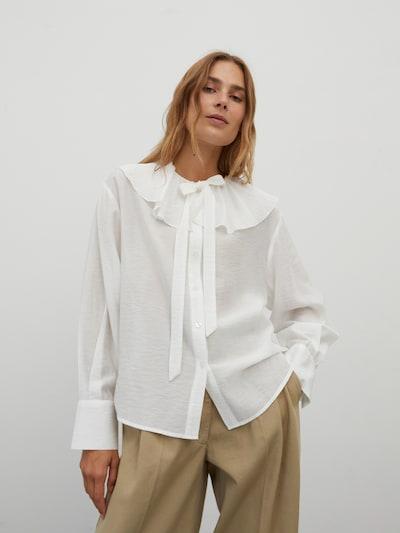 EDITED Bluse 'Angela' in weiß, Modelansicht
