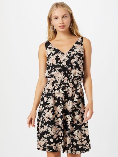 VILA Kleid 'KRISTINA LAIA' in beige / puder / schwarz, Modelansicht