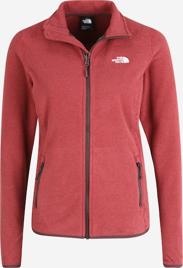 THE NORTH FACE Funktionsjacke '100 Glacier' in rot / pastellrot: Frontalansicht
