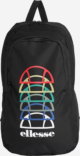 ELLESSE Sac à dos 'Tromia' en bleu / vert / rouge / noir / blanc, Vue avec produit