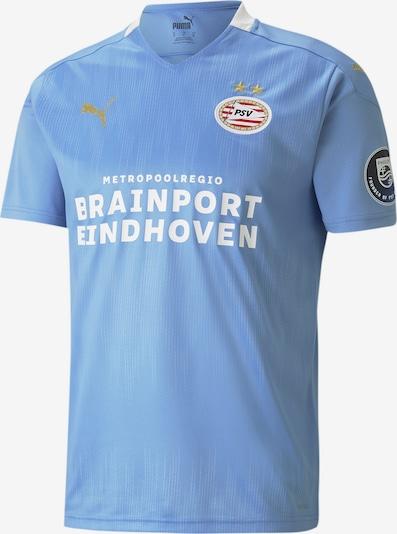 PUMA Tricot 'PSV Eindhoven' in de kleur Lichtblauw / Goud / Rood / Zwart / Wit: Vooraanzicht