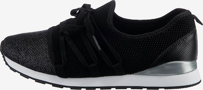 Lynfield Sneaker in schwarz / silber / weiß, Produktansicht