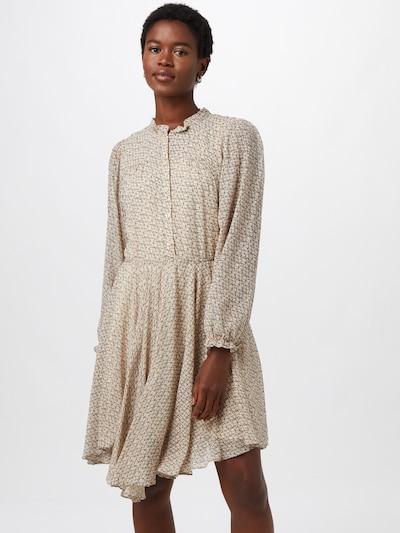 SECOND FEMALE Kleid in beige / schwarz, Modelansicht