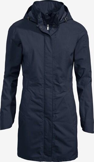 VAUDE Outdoormantel 'Kapsiki II' in de kleur Nachtblauw, Productweergave