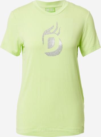DIESEL Skjorte 'T-SILY-R1' i gul